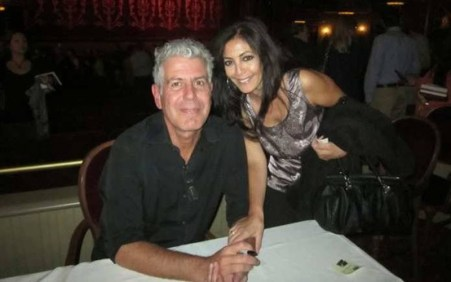 Anthony with her ex-wife Nancy