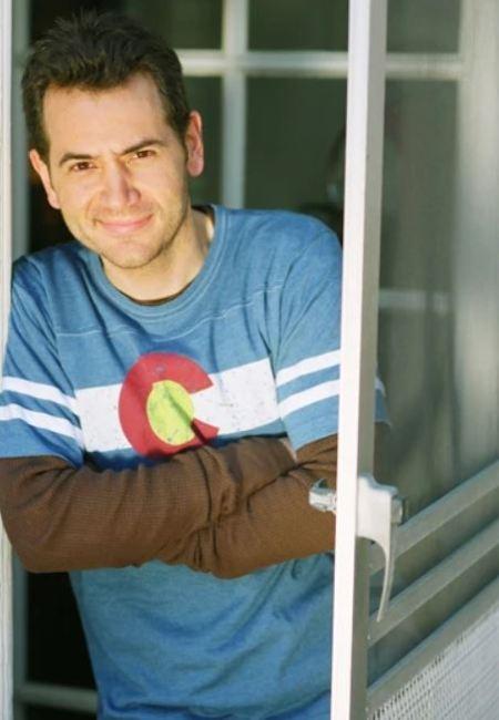 Victor Yerrid is standing on the door.