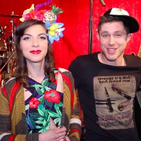 Natalia with her ex-boyfriend, Sam