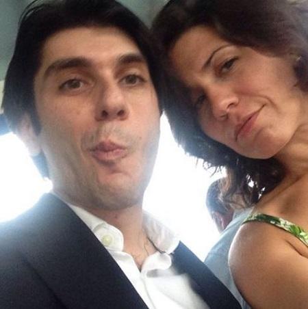 Karoun Demirjian and her brother Amar Demirjian