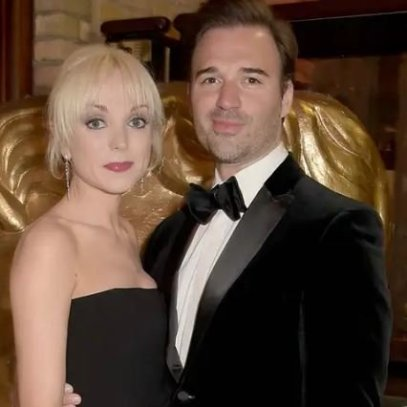 Helen George with her ex-husband, Oliver Boot
