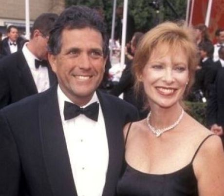 Les Moonves with his former wife, Nancy Wiesenfeld