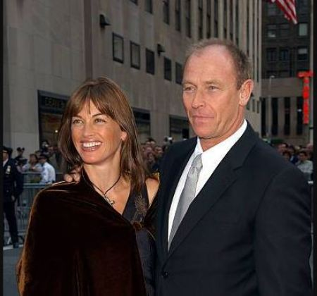 Corbin Bernsen and his wife