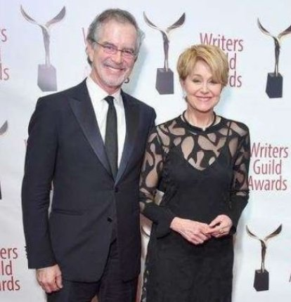 Rachel Trudeau parents at the Writers Guild Awards