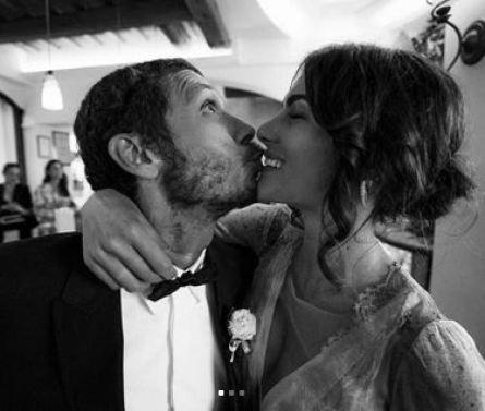 Valentino wished a warm birthday to Francesca Sofia