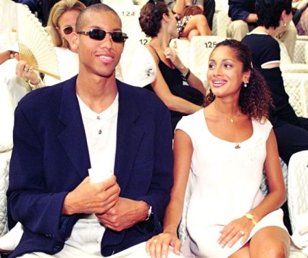 Reggie Miller and his wife