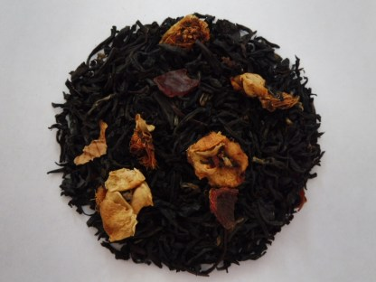 Delicate Peach, Flavored Black Tea, All Star Tea