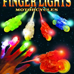 "2.5"" Finger Lights: Motorcycle Edition"