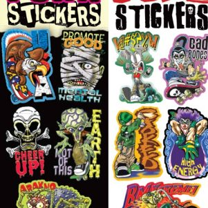 Punks Stickers