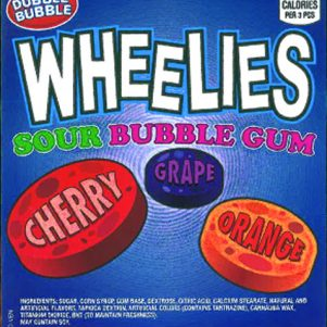 Wheelies Sour Gum