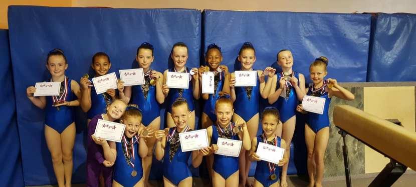 Acro Stars & Tumble Stars Competition Success for Junior Squad