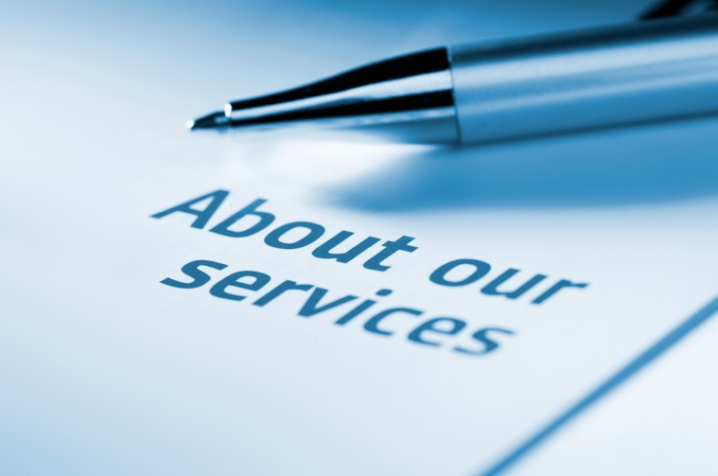 Business Information   About our services document   Leave