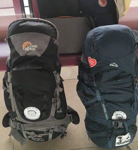 Weltreise, Packliste, Backpack