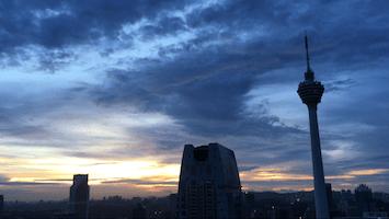 Skyline Kulala Lumpur, Alltagsgewusel, Weltreise