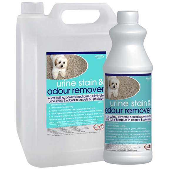 A Urine Stain & Odour Remover and Sanatiser from www.alltec.co.uk