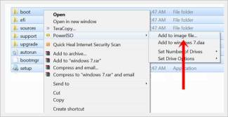 create a windows 7 bootable USB in under 9 minutes - windows 7 add to image