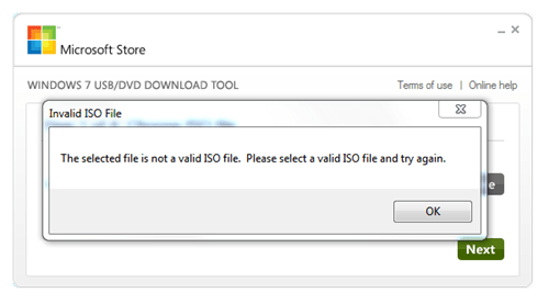 create a windows 7 bootable usb in under 9 minutes - windows 7 usb tool invalid iso file