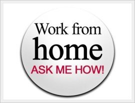 Work from Home badge - Make money online on Kingged.com