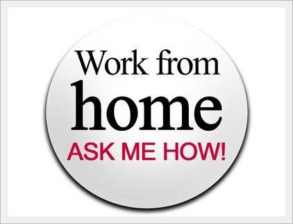 Work from Home badge - Make money online on Kingged.com