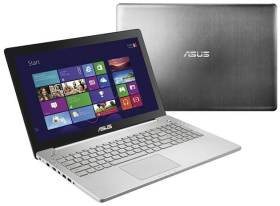 Asus N550JK-DS71T front and back - #4 Best Gaming Laptops under $1000