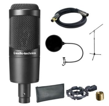 audio technica condenser microphones under $150 - Best Condenser Mics: 13 Best Condenser Microphones Under $200