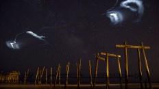 NASA ATREX Rocket Clouds. Photo by Steve Maciejewski