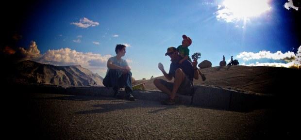 Family Yosemite GoPro photo