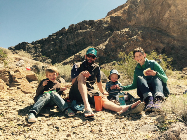 Family Photo in Dedeckera Canyon