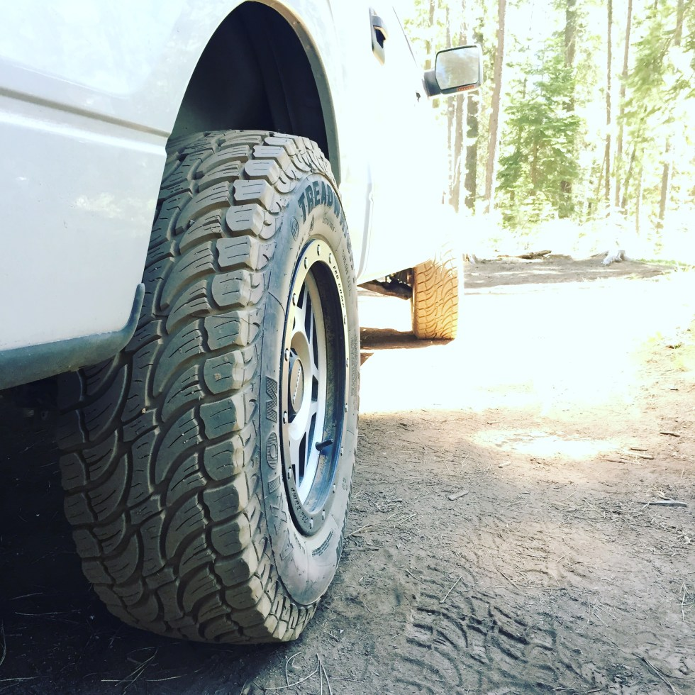 TreadWright Axiom on Ford F150