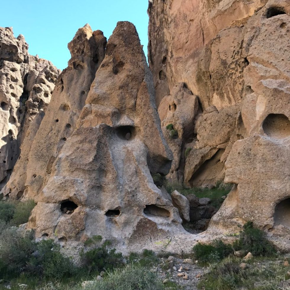 Banshee Canyon, Hole In The Wall, Mojave National Preserve