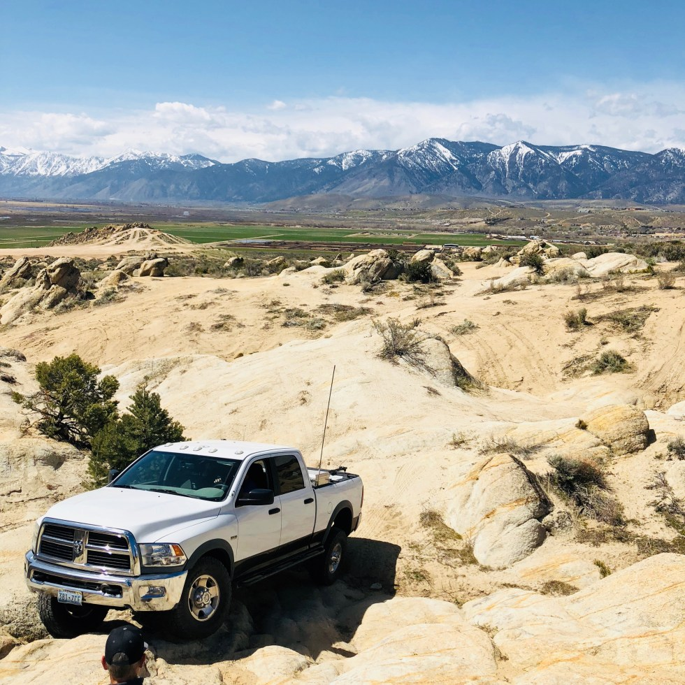 Power Wagon Rock Crawling at Prison Hill Recreation Area, Nevada