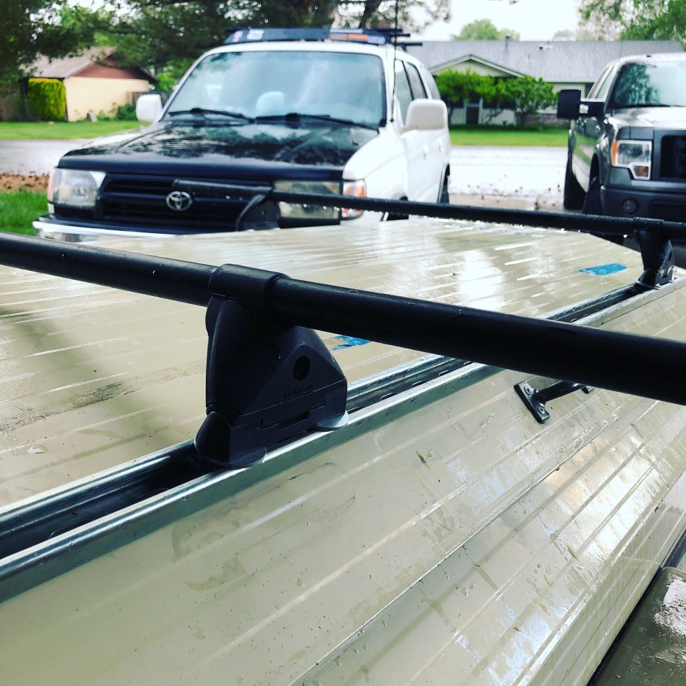 Superstrut / Unistrut Roof Rack Rails