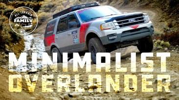 Minimalist Overlander: 2016 Ford Expedition