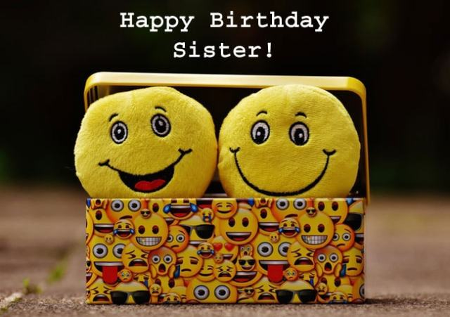 Happy Birthday Sister Meme
