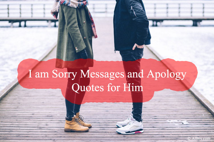 I am Sorry Messages and Apology Quotes for Him