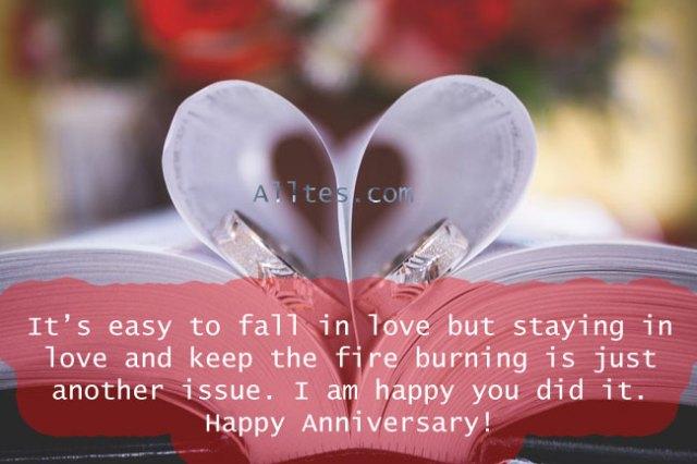 I am happy you did it. Happy Anniversary!