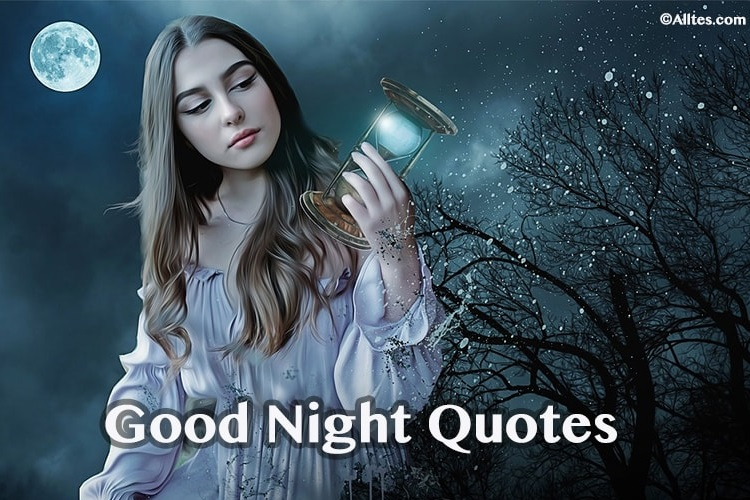 Inspirational Good Night Quotes Wishes Messages And Sayings
