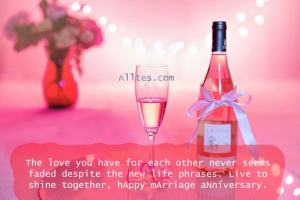 Live to shine together, hAppy mArriage aNniversary.