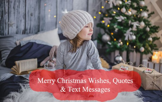 Merry Christmas Wishes, Quotes & Text Messages