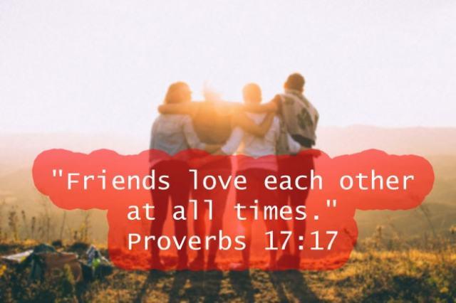 Proverbs 17:17