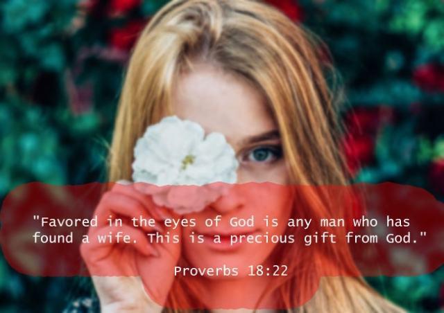 Proverbs 18:22