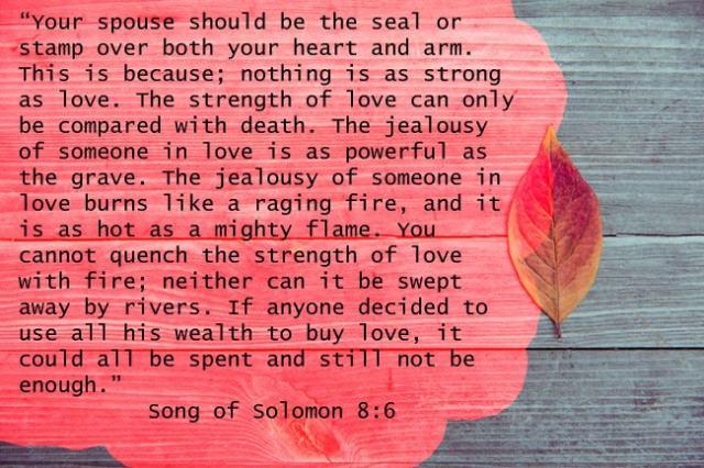 Song of Solomon 8:6