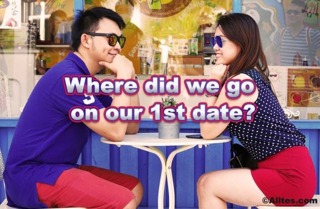 Where did we go on our first date