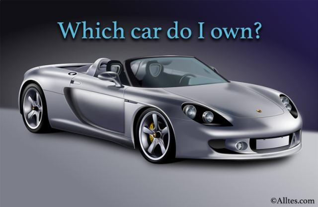 Which car do I own?