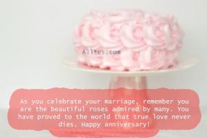 You have proved to the world that true love never dies. Happy anniversary!