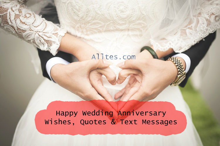 wedding anniversary wishes, quotes & text messages