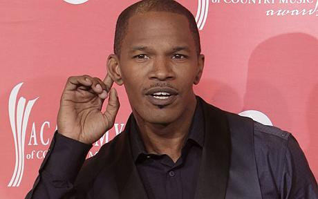 Jamie Foxx...Jamie Foxx is seen backstage at the 44th Annual Academy of Country Music Awards in Las Vegas on Sunday, April 5, 2009. (AP Photo/Jae C. Hong)