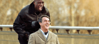 If you want to brush up your French watch Intouchables. The story is about a young offender Driss who turns up at the house of an aristocrat who needs a caretaker, because he is a quadriplegic. He hires Driss because he doesn't take pity on his situation and the two become great friends eventually. It's a really touching story - based on true events - about friendship. You won't regret watching this movie.
