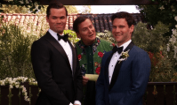 LGBT love (C): Bryan and David - The New Normal. For as long as it lasted, I liked The New Normal. And especially its main couple.