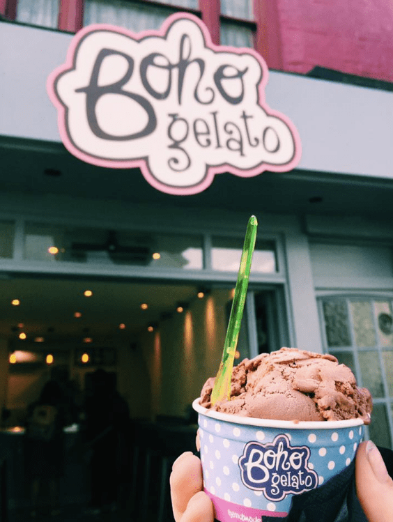 Boho Gellato - home to some of the best ice cream known to man (in my opinion)